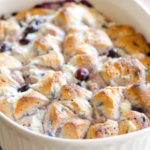 5-Ingredient Blueberry Ricotta Breakfast Bubble Up Bake