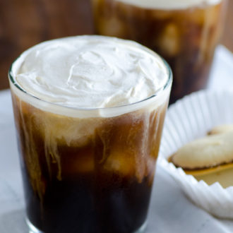 Salted Cream Iced Coffee