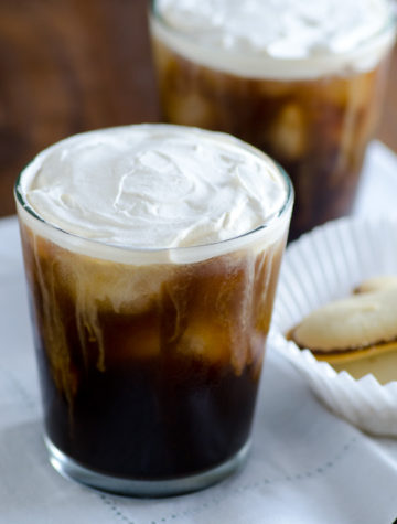 Salted Cream Iced Coffee