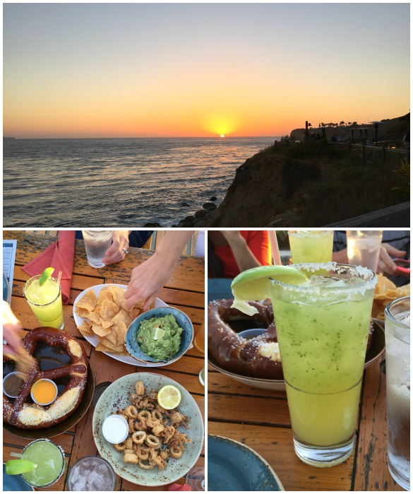 Terranea Resort: Cocktail hour at Nelson's