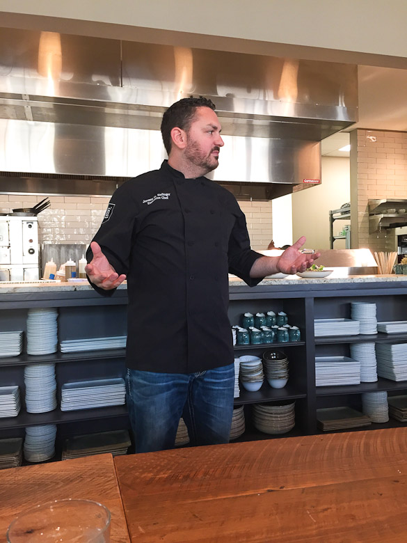 County Seat Restaurant - new farm to table dining in Madison County (Town of Livingston, MS) Chef Jeremy Enfinger