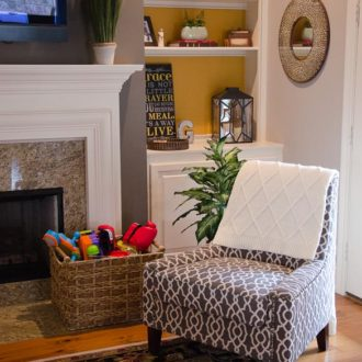 Home Tour: Sauder Nico Accent Chair (Design Challenge)