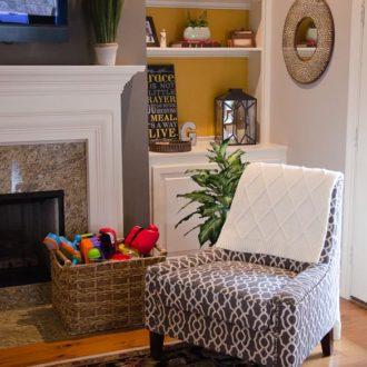 Home Tour: Sauder Nico Accent Chair (Design Challenge)