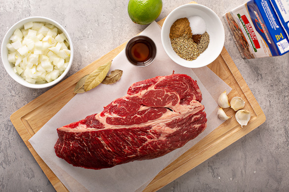 ingredients for beef barbacoa recipe