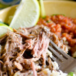Slow Cooker Beef Barbacoa (For Tacos or Burrito Bowls)