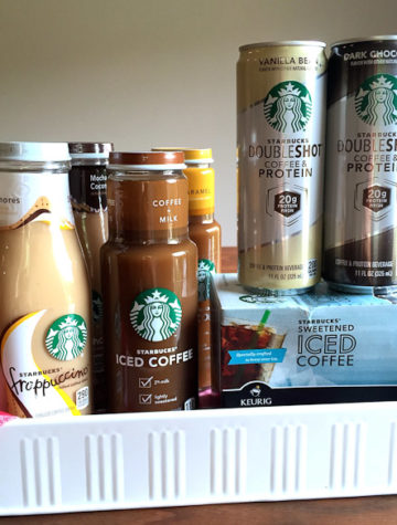 Starbucks® Iced Coffee and Bottled Frappuccino Coffee Drinks