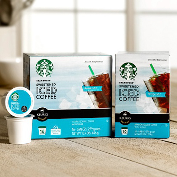 Starbucks Iced Coffee K-Cup Packs