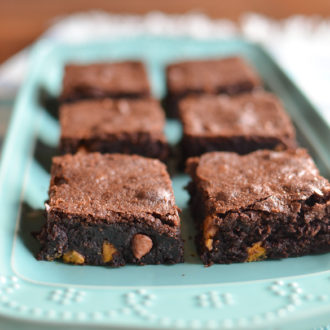 Rich Chocolate Butterscotch Brownies