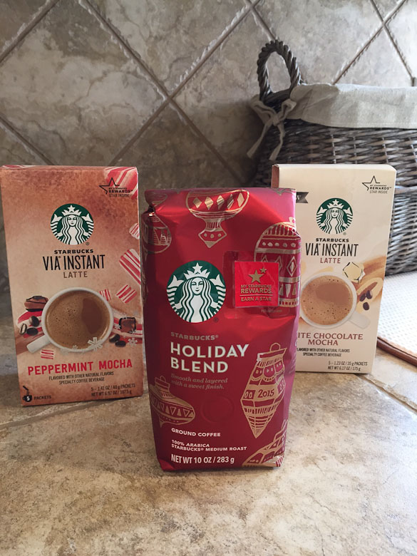 Starbucks Holiday Beverages