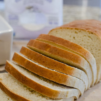 Almond Wheat Sliced Bread