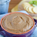 Apple Butter Hummus Dip