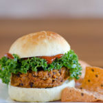 Sweet Potato Black Bean Veggie Burger