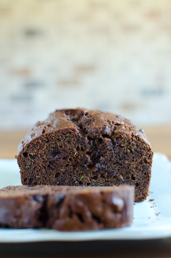 Double Chocolate Zucchini Bread - deliciously moist and chocolaty!