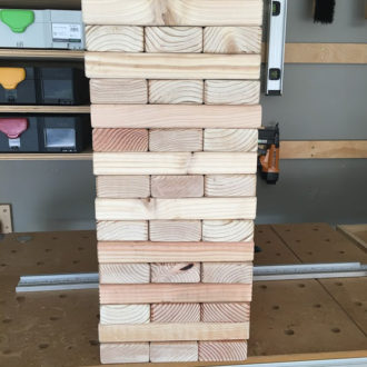 How to Build a DIY Giant Jenga Yard Game in Just TWO Hours and Only TWENTY Dollars
