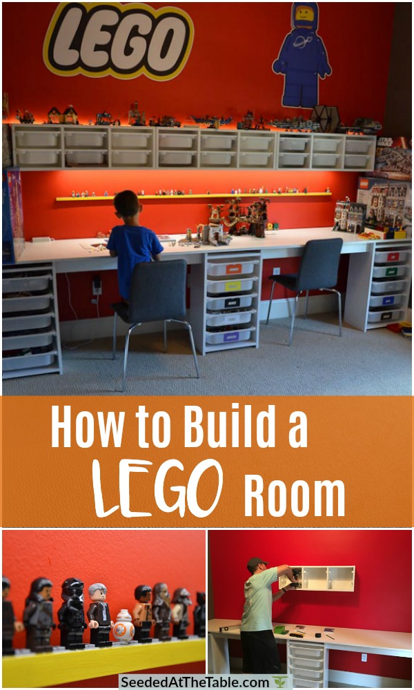 Collage of lego room.