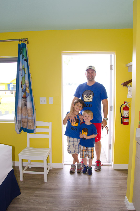Legoland Beach Retreat - a look inside the bungalows!