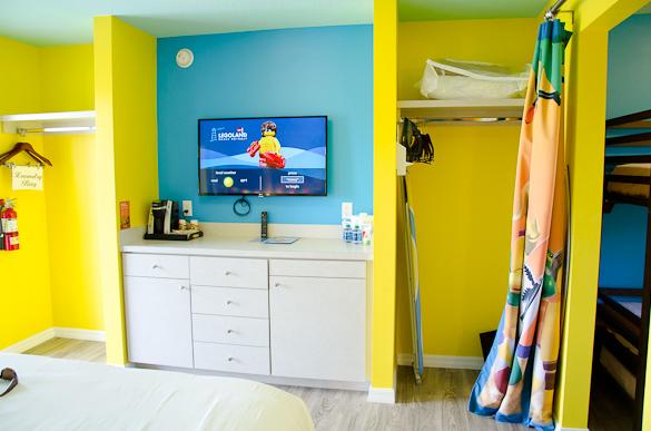 Legoland Beach Retreat - a look inside the bungalows!