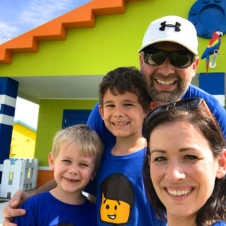 Family trip to LEGOLAND® Florida Beach Retreat