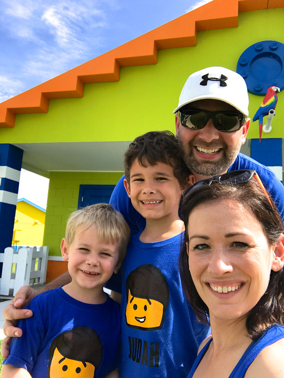 Family trip to LEGOLAND® Florida Beach Retreat