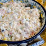 Cheesy Cold Corn Dip