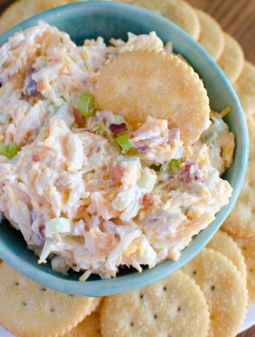 Million Dollar Dip - otherwise known as Neiman Marcus dip. Similar to pimento cheese dip, but much easier to make and only takes 5 minutes!