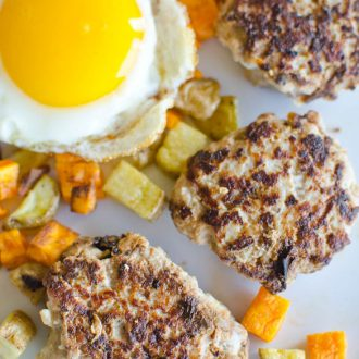 Apple Onion and Sage Breakfast Sausage