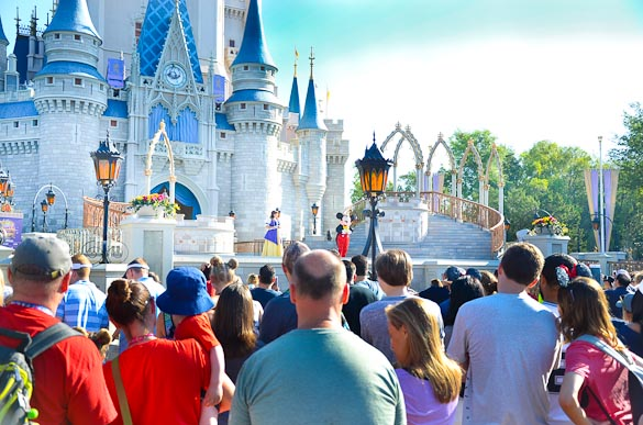 "Only have 24 hours to visit Disney World? Make the most of only ONE day at Magic Kingdom by following our Disney tips and tricks. <img class=""aligncenter size-full wp-image-15249"" src=""https://www.seededatthetable.com/wp-content/uploads/2019/01/Tips-for-Seeing-Disney-in-One-Day.jpg"" alt=""Only have 24 hours to visit Disney World? Make the most of only ONE day at Magic Kingdom by following our Disney tips and tricks."" width=""585"" height=""883"" />During our trip to <a href=""https://www.seededatthetable.com/family-trip-to-legoland-florida-beach-retreat/"">LEGOLAND Florida Resort</a>, we decided to stay one more night in the Orlando area so we could take the kids to Magic Kingdom for one day. Although one day isn't ideal for any of the Disney World parks (maybe Hollywood Studios until Star Wars opens) we definitely made the most of it by following a <a href=""https://www.seededatthetable.com/10-disney-tips-from-our-disney-world-trip/"">few tips and tricks</a>. <h2>Tip #1 for Seeing Magic Kingdom in One Day</h2> <span style=""text-decoration: underline;""><strong>Enter the park early</strong></span> - We are early birds when it comes to traveling, so this is easy for us. It is true at Disney that the ""early bird gets the worm"". More than a year ago, Disney started allowing guests to enter Main Street early at Magic Kingdom. When you enter the parks early and hit the rides at rope drop, you can ride more rides in one hour than you can in half a day in the afternoon! <img class=""aligncenter size-full wp-image-15251"" src=""https://www.seededatthetable.com/wp-content/uploads/2019/01/Tips-for-Seeing-Disney-in-One-Day-4.jpg"" alt=""Only have 24 hours to visit Disney World? Make the most of only ONE day at Magic Kingdom by following our Disney tips and tricks."" width=""585"" height=""387"" />The shops on Main Street are open before the rides, so you can take time to stroll the street and even enjoy a coffee at Starbucks. We grabbed a coffee at Starbucks then had the <strong>Mickey Waffles Platter</strong> for breakfast at the Plaza Ice Cream Parlor. This is the perfect place to grab your breakfast since it's right on the corner of the central hub and not very busy before the rides open. <h4>What Does Rope Drop Mean?</h4> Rope drop is a term used at Disney parks as the official time the rides open. At Magic Kingdom, you can typically enter Main Street early and walk right up to the castle (central hub) where Cast Members are standing to block off all the walkways to the different sections until official opening time. After the opening show, those walkways are opened and guests race their way to the rides. Sometimes ropes are used to block the paths, and if they are they are gently pulled aside, not exactly ""dropped"". <h2>Tip #2 for Seeing Magic Kingdom in One Day</h2> <span style=""text-decoration: underline;""><strong>Stay at a Disney Resort</strong></span> - If you stay at one of Disney World's resorts, you get the benefit of using magic hours. Magic hours are not available every day at every park, so plan ahead and try to visit when magic hours are available for Magic Kingdom if you are staying at the resort for this reason. Sometimes the magic hours are morning hours before the park opens, and sometime they are evening hours after the park closes, so plan accordingly. If you decide to stay at the resorts and budget isn't an issue, I recommend booking a room at Disney Contemporary Resort. It is the most convenient location to Magic Kingdom with a 10 minute walkway to the gate. Definitely a game changer when you're pressed for time! <h4>What Are Magic Hours?</h4> Magic Hours are special hours reserved at the park for guests of Disney resort hotels only. Select rides will be open before or after normal operating hours for Disney World resort guests only -- on the day magic hours are available. It is necessary to check the schedule daily to see when magic hours are offered. <h2>Tip #3 for Seeing Magic Kingdom in One Day</h2> <span style=""text-decoration: underline;""><strong>Utilize FastPass+ Plans</strong></span> - Every guest can take advantage of FastPass+ plans for select rides. If you do not already have a FastPass for Seven Dwarfs Mine Train, it is likely you will not get one so I recommend hitting that ride at rope drop. However, depending on the time of year you visit, you should be able to obtain FastPasses for most other attractions. The rides that usually have longer lines and would mostly benefit from FastPass+ plans are Buzz Lightyear, Peter Pan, Pirates of the Caribbean, Meeting Mickey, Space Mountain, Splash Mountain, Thunder Mountain. I also sometimes grab a FastPass for Winnie the Pooh as it's one of my favorite rides and the line can often be longer than I'm willing to wait. <h4>What is FastPass+?</h4> FastPass+ allows you to skip the line on select rides. You can sign up for 3 selections at a time. Once all 3 are used up, you can select one more at a time for the rest of the day, or until all FastPasses are used up! You can select your FastPass+ plans on <a href=""https://disneyworld.disney.go.com/login/?returnUrl=/fastpass-plus/logged-in/"">Disney's website</a> by signing in to your Disney account (if you don't have one, I highly suggest signing up now -- it's free!). Or, you can manage your FastPass+ selections on Disney's mobile app -- I definitely recommend. Which leads me into my 4th tip for seeing Magic Kingdom in one day. <h2>Tip #4 for Seeing Magic Kingdom in One Day</h2> <span style=""text-decoration: underline;""><strong>Download My Disney Experience Mobile App</strong></span> - If you have Disney's mobile app on your phone you can use it to manage your daily plans, including FastPass+ selections, dining plans, hours of attractions, etc. It includes maps of the parks to help you navigate your way around, and you can view the hours of character showings, parades and other attractions. Most recently, Disney added the feature to order food from your phone through this app so you do not have to wait in line at select quick service restaurants. Nice! <h4>How I Use Disney's Mobile App</h4> I use My Disney Experience Mobile App all day while at the parks. I can continue to refresh the options while standing in line for a ride to check for the dining hours and location I want for dinner, or find more FastPass selections. You'll be surprised at how often a time will pop up and become available after hitting refresh! Some of you won't care to do this as much, but it's become like a little game for me."