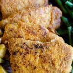Easy Almond Skillet Pork Chops