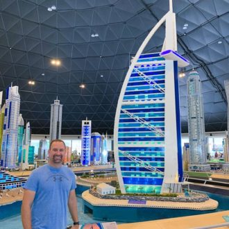 A collection of photos of our visit to MINILAND at LEGOLAND® Dubai -- an indoor exhibit of iconic buildings and skylines from around the Middle East made from 20 million LEGO bricks.