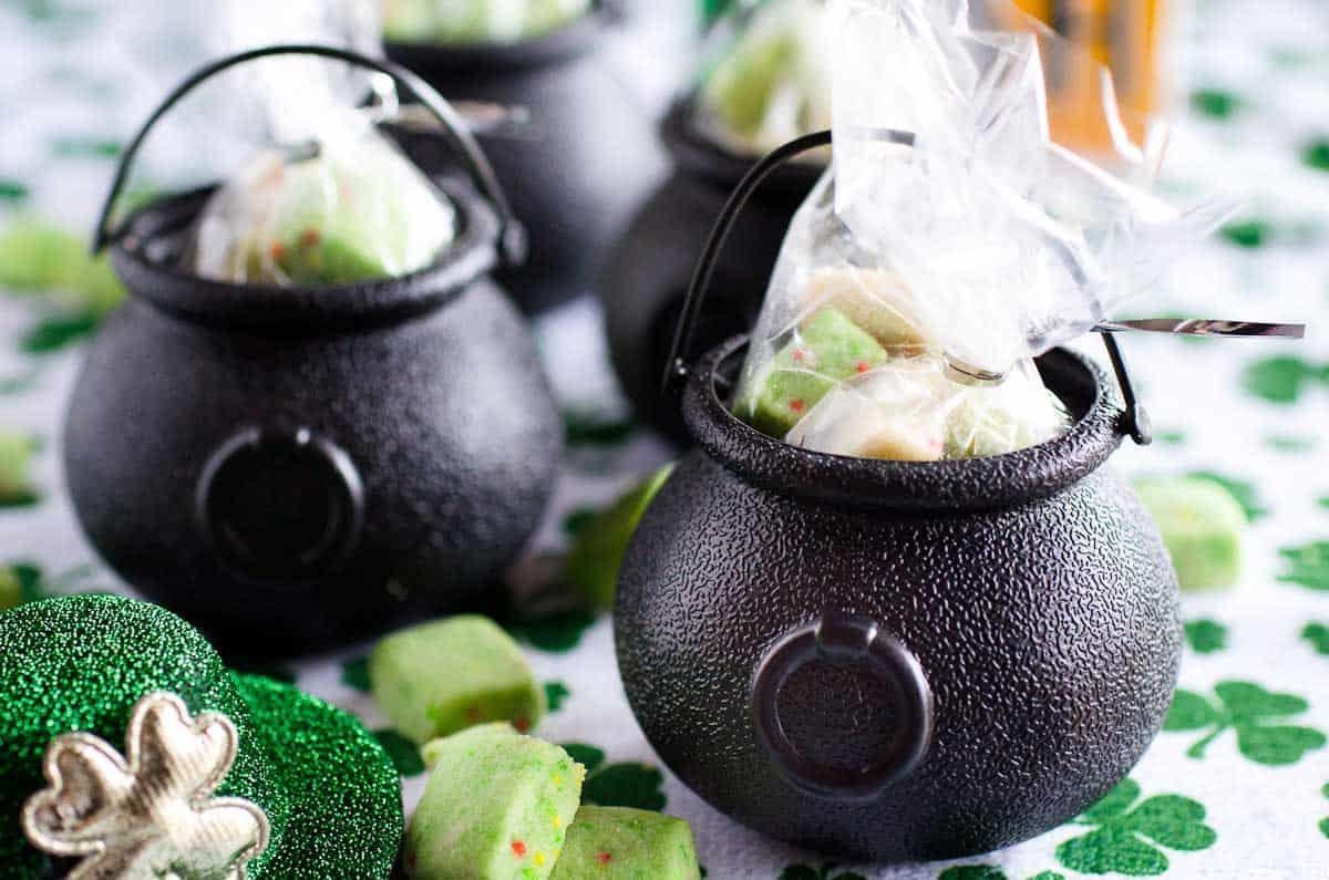 cookies in cauldrons