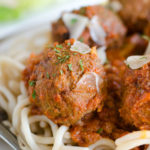 Healthy Freezer Italian Meatballs