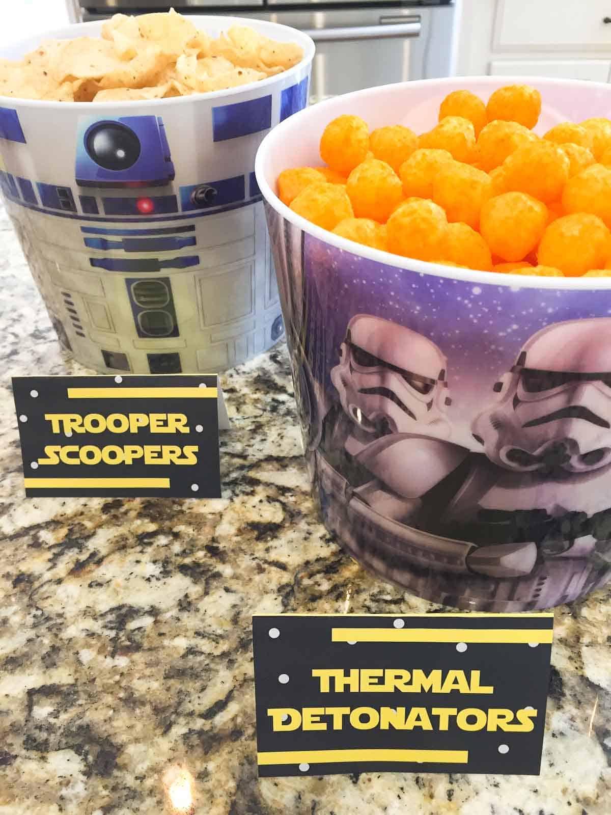 star wars recipes trooper scoopers and thermal detonators