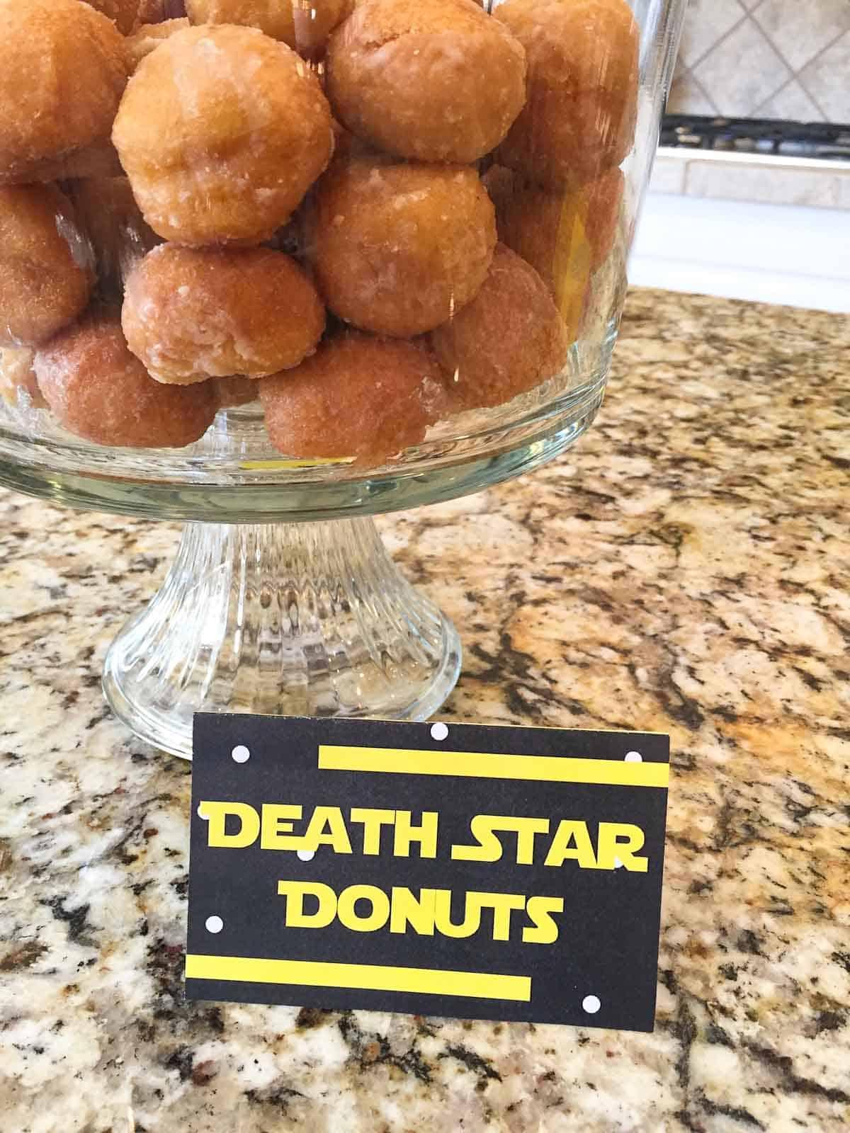 star wars recipes death star donuts