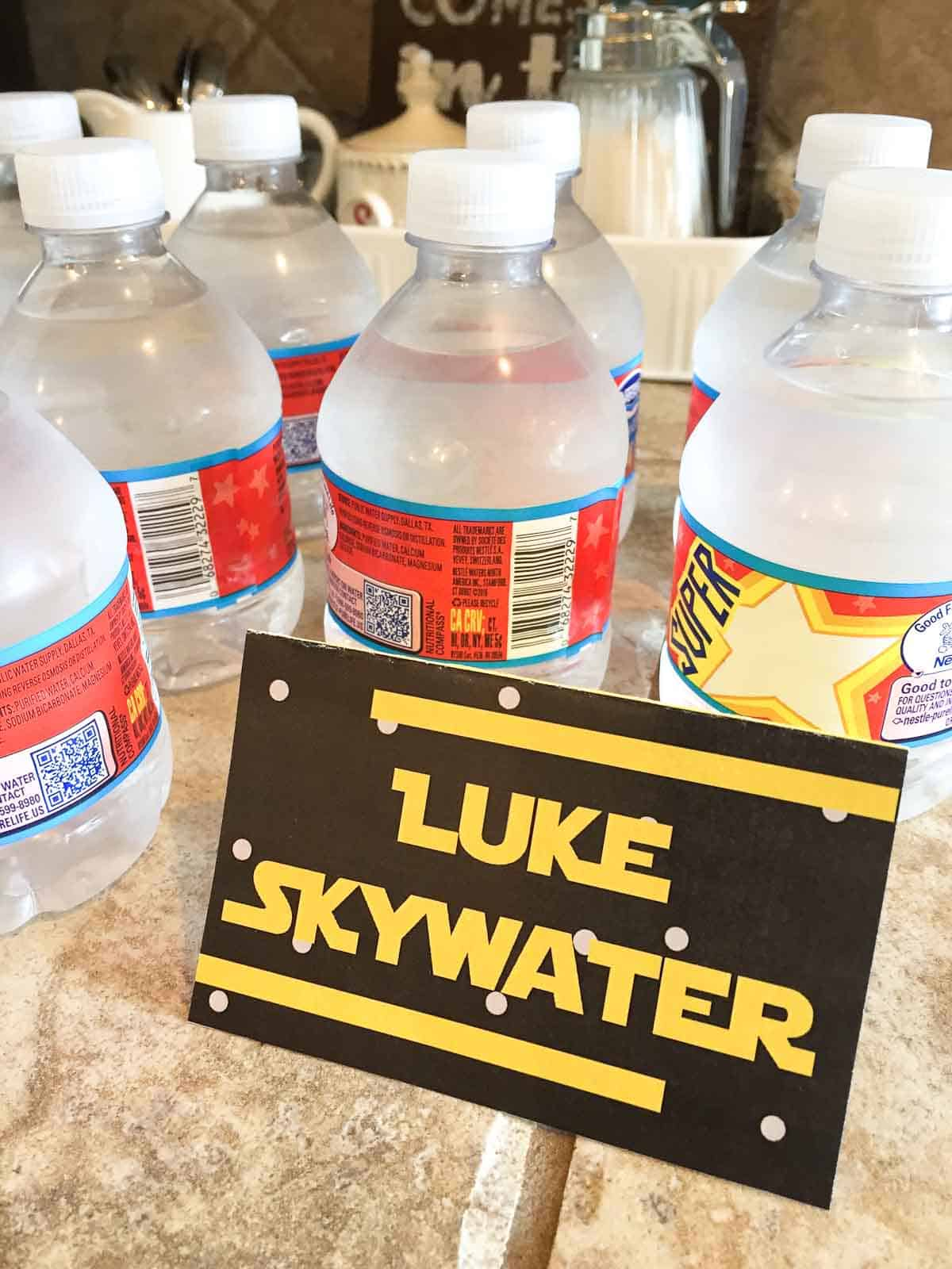 star wars food luke skywater free labels