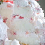 Strawberry Marshmallow Angel Cake