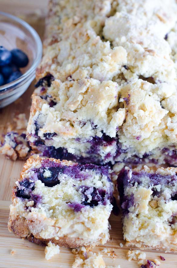 Blueberry muffin bread.