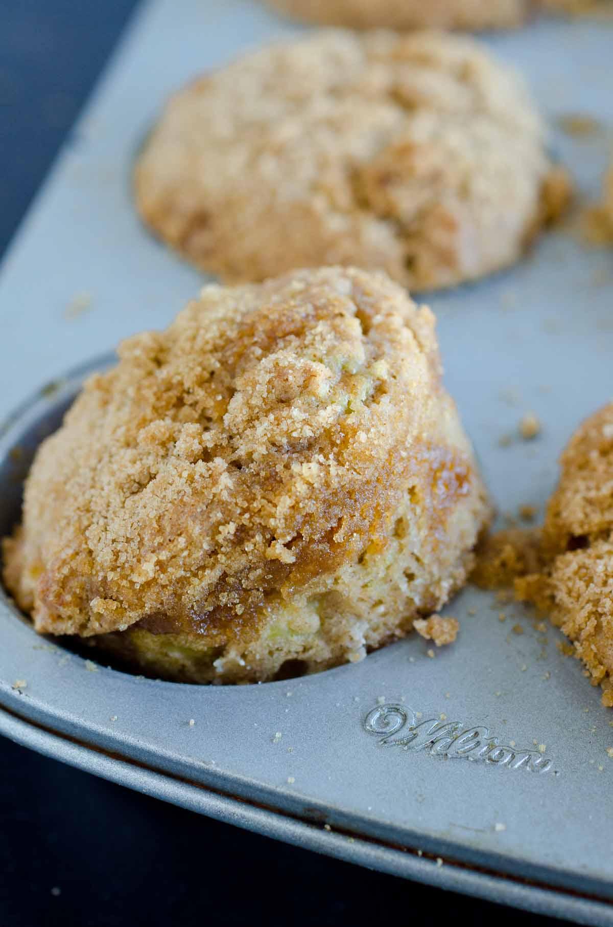 muffin in cupcake tin