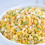 Easy Mexican Corn Salad