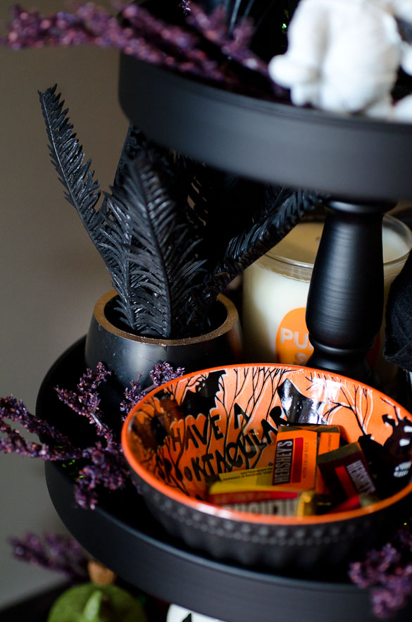 candy bowl for halloween