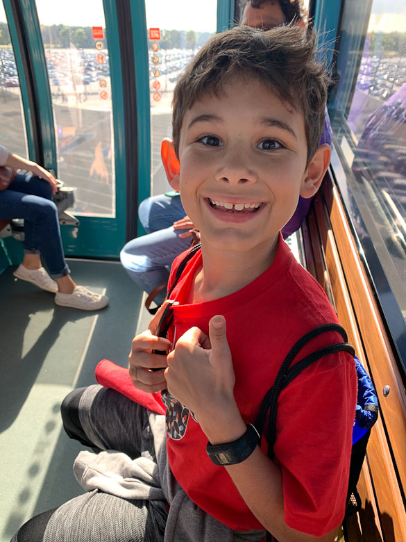 gondola ride at disney
