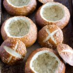 How to Make Pretzel Bread Bowls