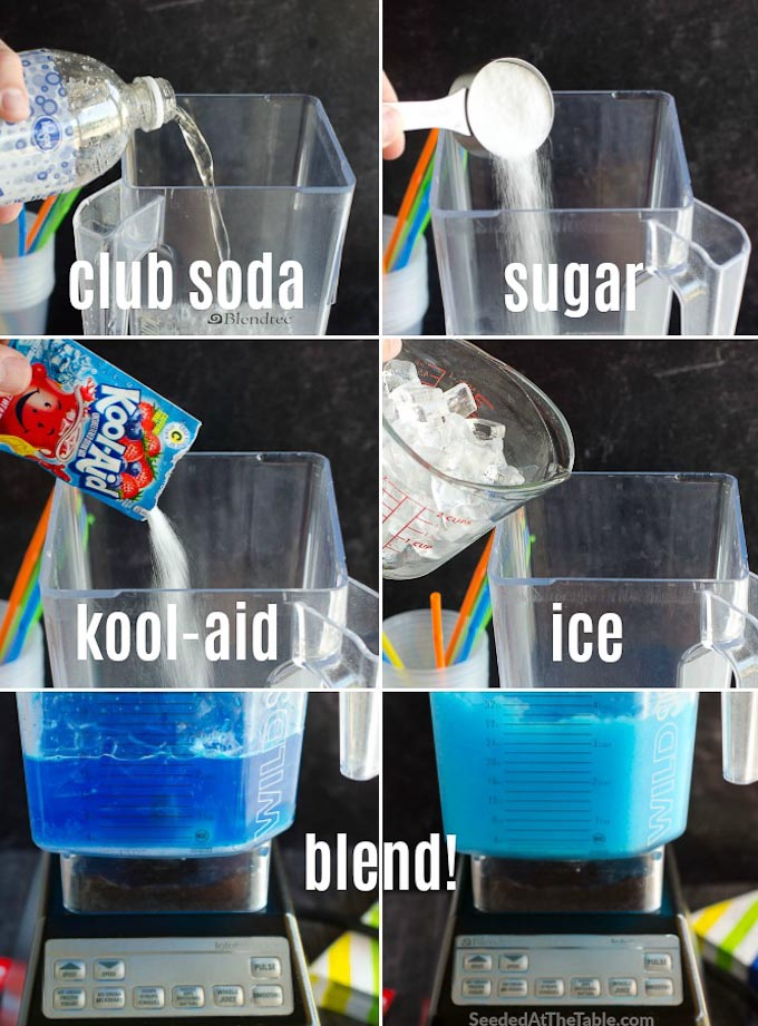 how to make a slushie collage