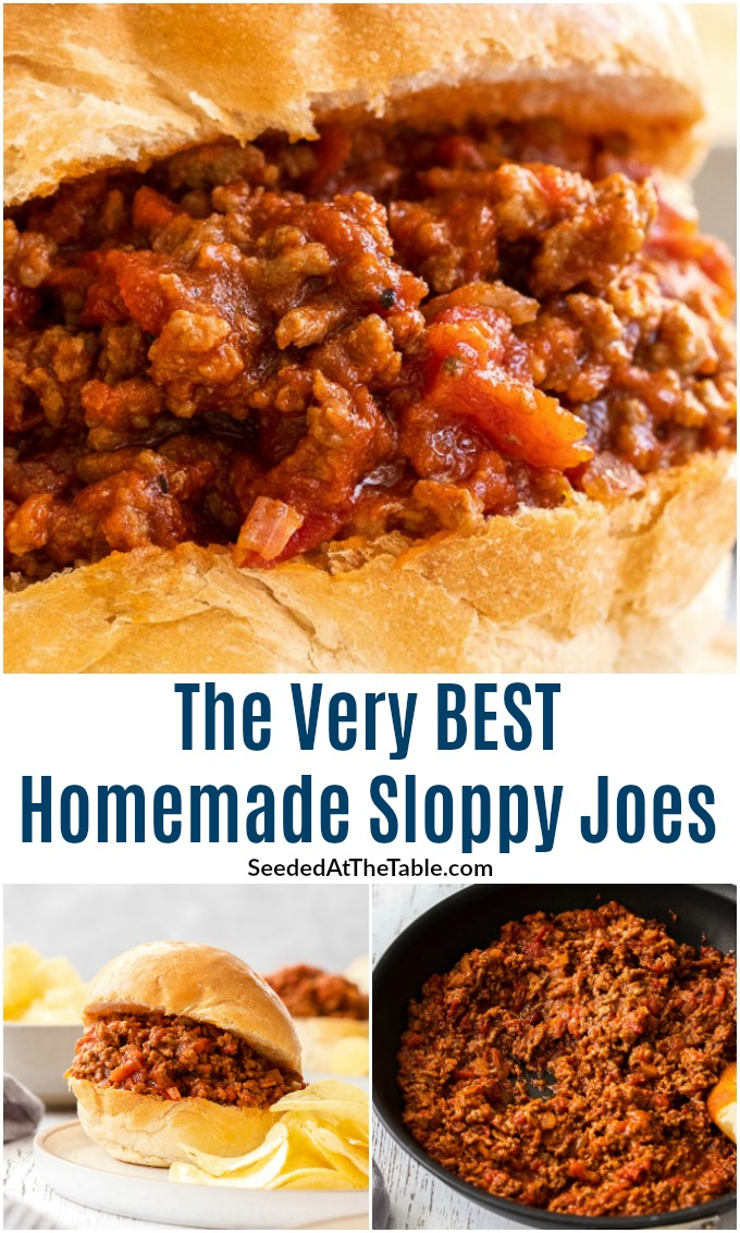 Our favorite sloppy joe recipe is easy and full of delicious flavors with real ingredients. Forget the canned sauce or mix packet and find the very best homemade sloppy joes right here!