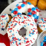 Stars and Stripes Biscuit Donuts