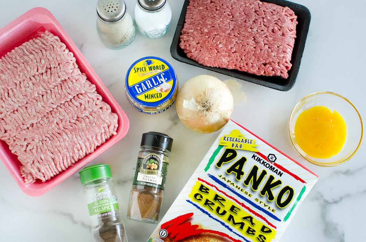 ingredients for swedish meatballs