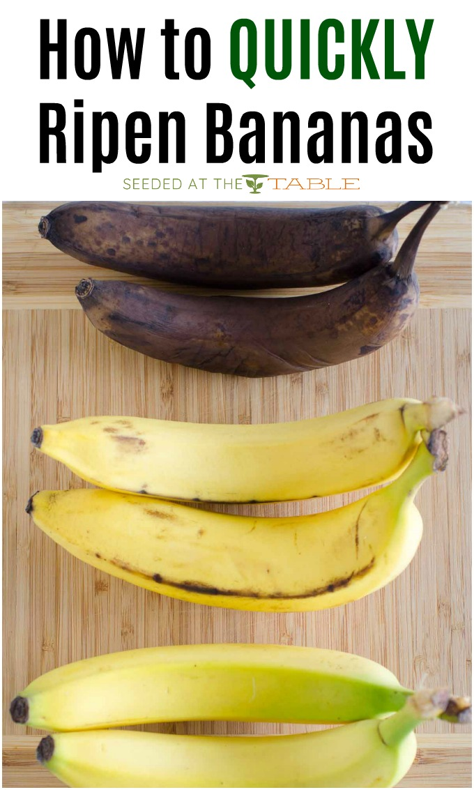 Our tips and tricks for how to ripen bananas fast for all of your banana recipes.