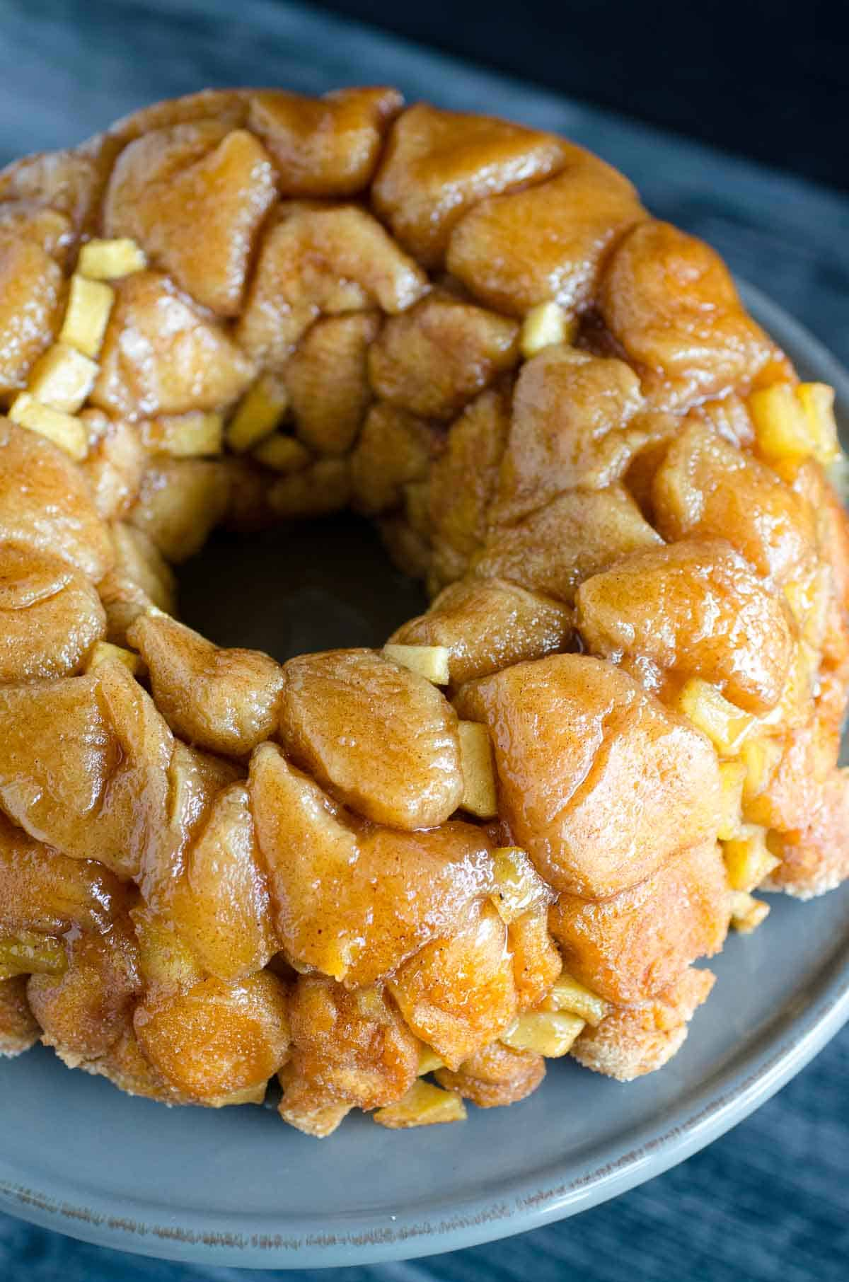 apple pie bundt pull apart bread