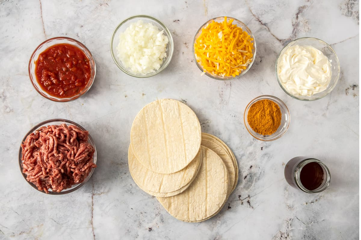 taco pie ingredients